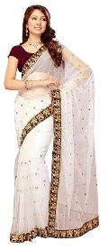 Wedding Wear Net Sarees