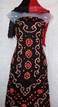 Satin Cotton Bandhej Dress