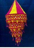 Hanging Fabric Lamp Shades