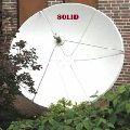 6ft Solid C-band Prime Focus Satellite Dish Antenna - 180cm