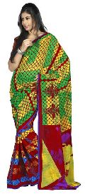 Fanciful Printed Casual Wear Faux Georgette Saree