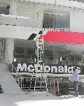 Aluminium Self Supporting Extension Ladder