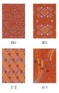 Luster Brown Printed Ceramic Wall Tiles 8 X 12