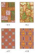 Ordinary Brown Printed Ceramic Wall Tiles