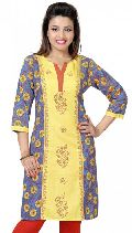 Summerlicious Smart Indian Designer Short Kurta for Ladies