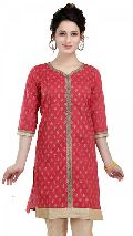 The Raiding Red Ethnic Indian Tunic for Women