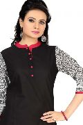The Serene Summer Cotton Printed Tunic Top for Women