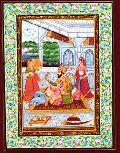 Rajasthani Traditional Paintings -( Rtp - 2178)