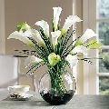 Artificial White Calla Lily Flower