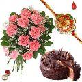 Chocolate Cake, Rakhi Gifts