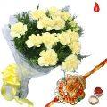 Carnations, Rakhi Gifts