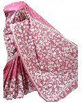 Stitched Silk Kantha Sarees