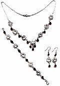 Sterling Silver Necklace Set- EC S2