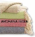Cotton Herringbone Blanket