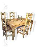 Natural Wooden Dining Set
