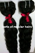 Virgin Weft Curly Natural Hair