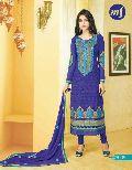 Traditional Blue Salwar Suit