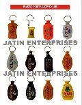 Plastic Printed Keychains