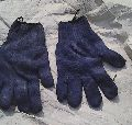 Old Half Leather Hand Gloves