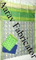 Hand Block Print Unstitched Salwar Suit