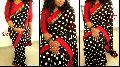 Black Ethnic Designer Saree