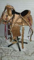 WS-010 Horse Western Saddle