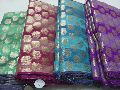 Chanderi Jacquard Fabric for Making Designer Dress