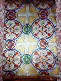 Hand Woven Cross Brocades Fabric
