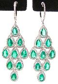 Diamond Chandelier Earring (CWCGE202)