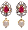 Diamond Gemstone Earring (CWDGE204)