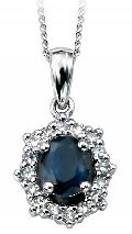 Diamond Mangalsutra Pendant (CWDGP220)