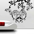 Birds In Love Wall Decal