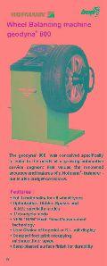 Hmt hofmann Computerised Wheel Balancer