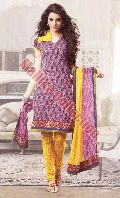 Ladies Cotton Churidar Suits