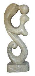 Love Couple Stone Sculpture