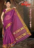 Cotton Plain Saree