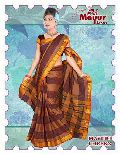 Mercerised Lining Cotton Sarees