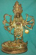 Brass Kali Maa Statues