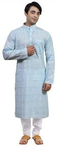 Mens Coloured Cotton Kurta Pajama